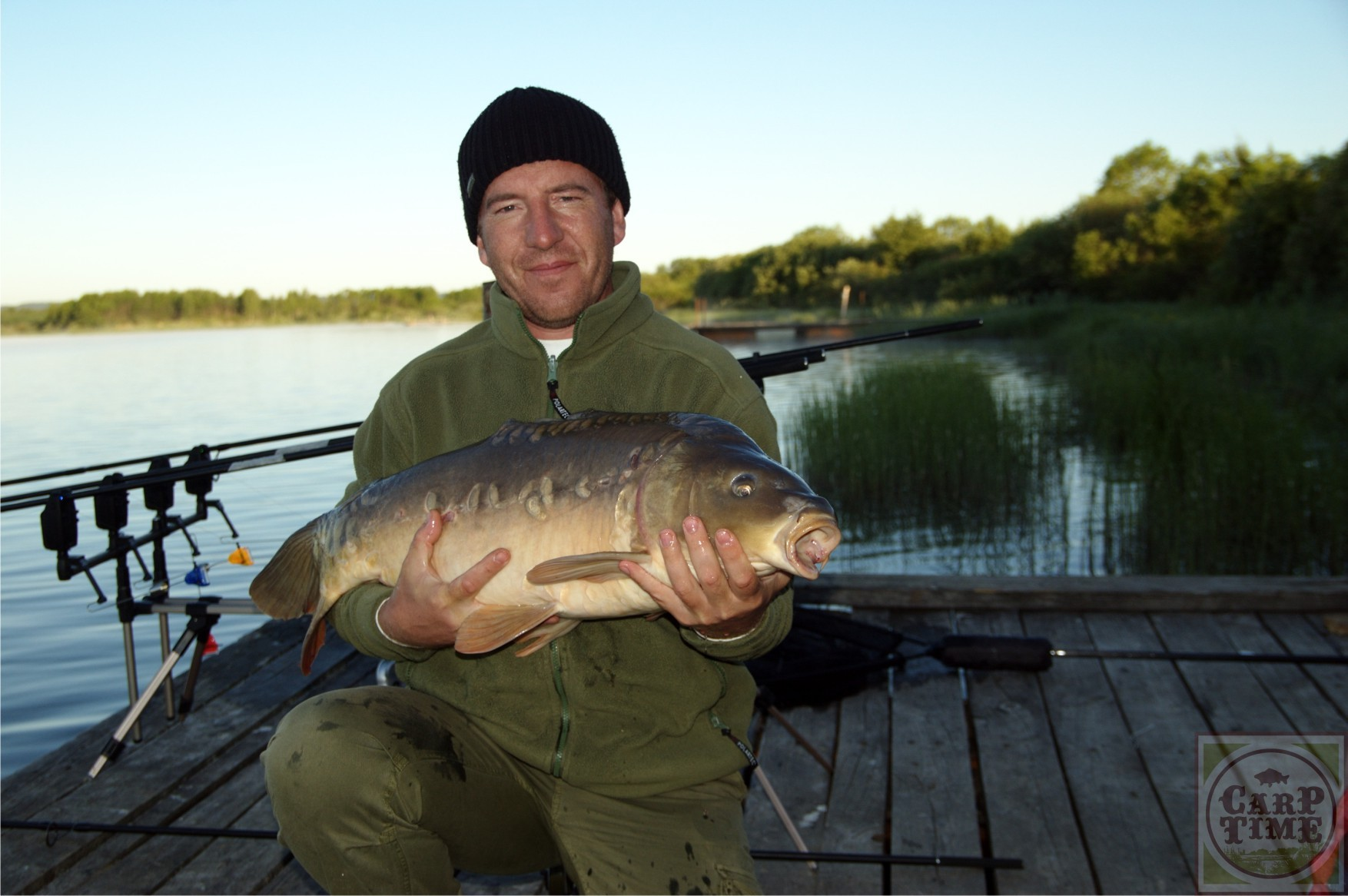 Рыбалка в калужской и тверской областях