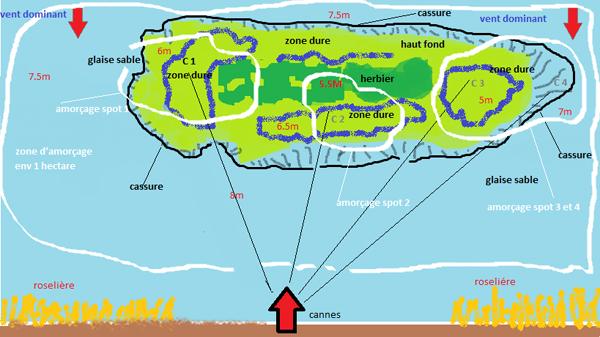 карта сектора для рыбалки
